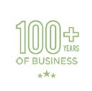 Over 100 years of business.