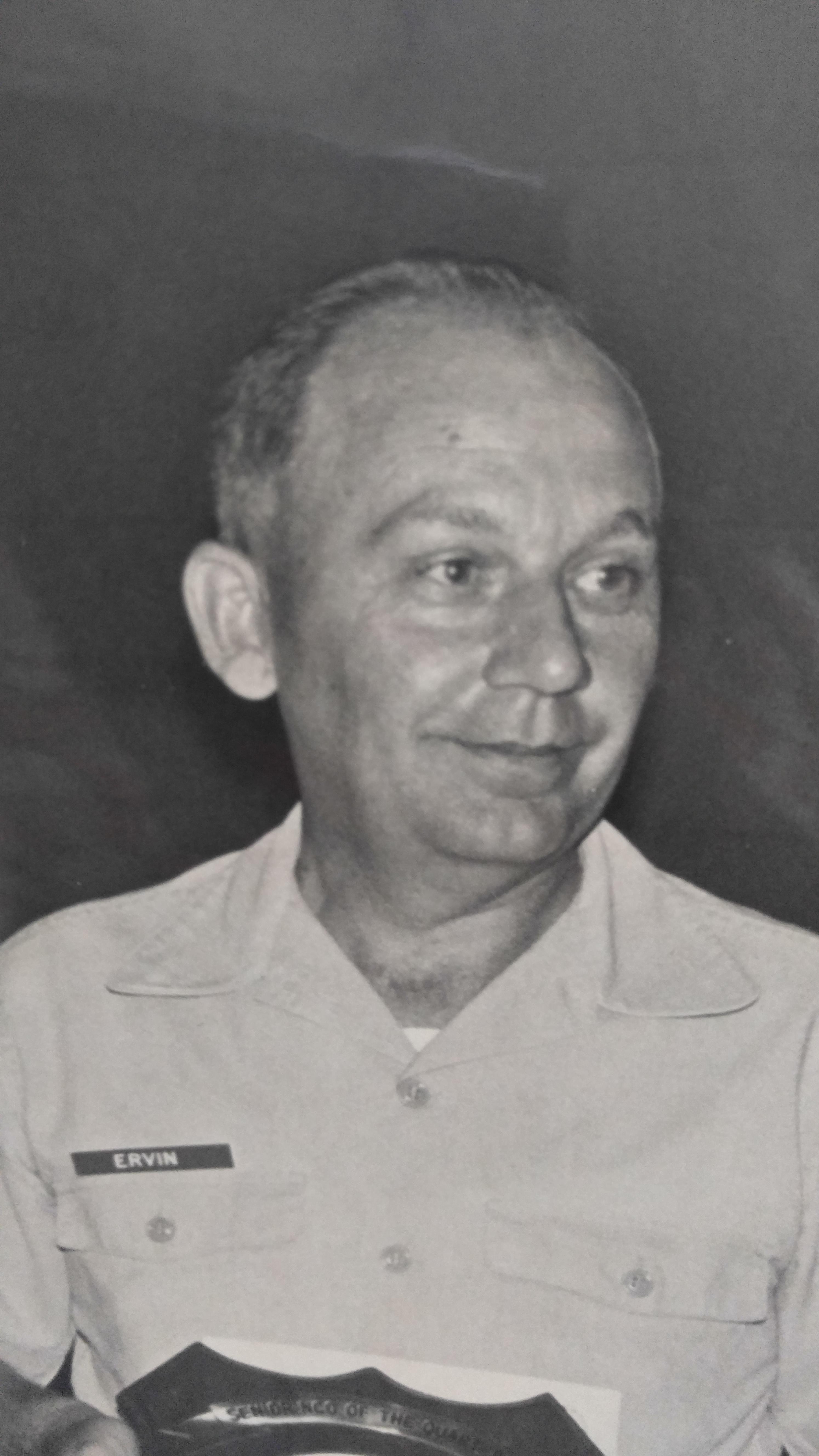 Vernon Lee Ervin