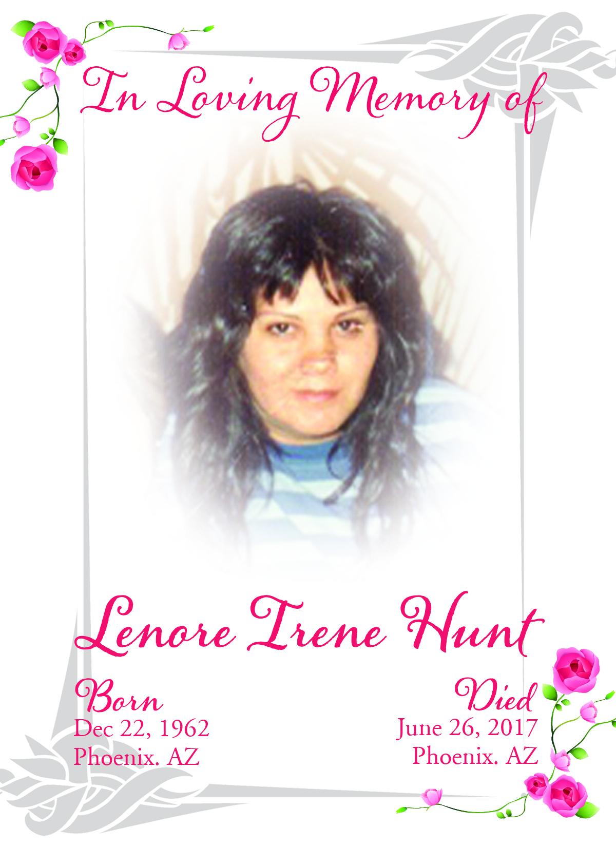 Lenore Irene Hunt