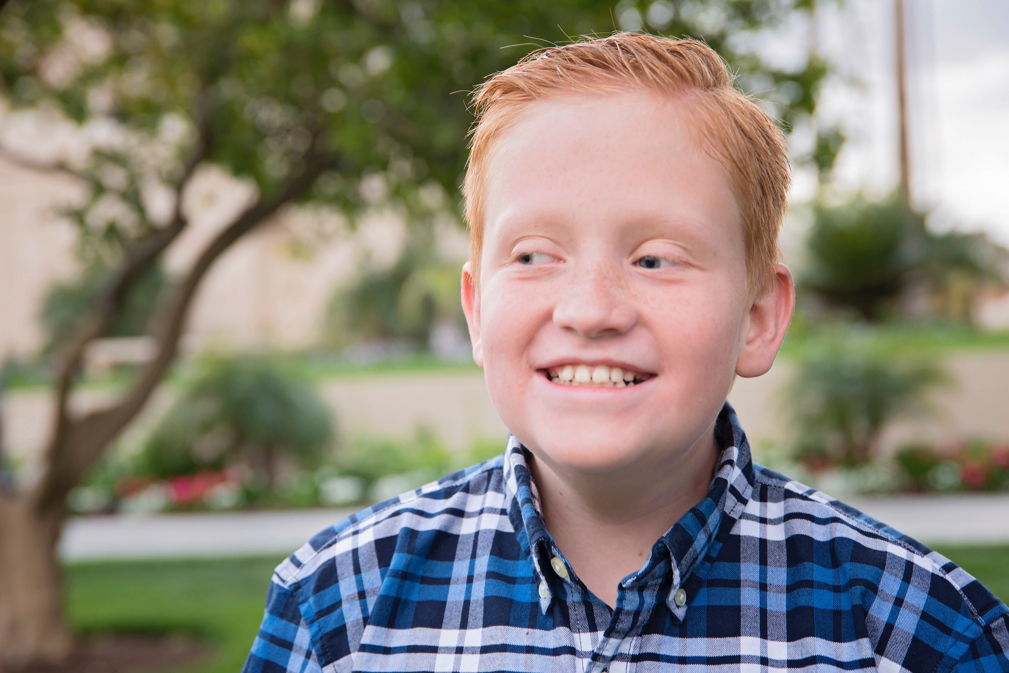 A boy preparing for his own funeral was miraculously healed